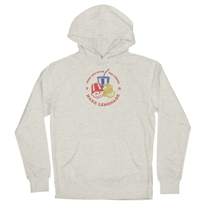 When Life Gives You Lemons Women's French Terry Pullover Hoody by Hot Dog On A Stick's Artist Shop