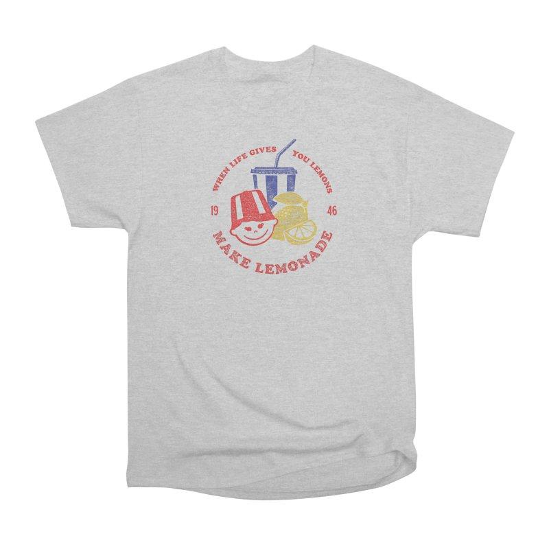 When Life Gives You Lemons Men's Heavyweight T-Shirt by Hot Dog On A Stick's Artist Shop