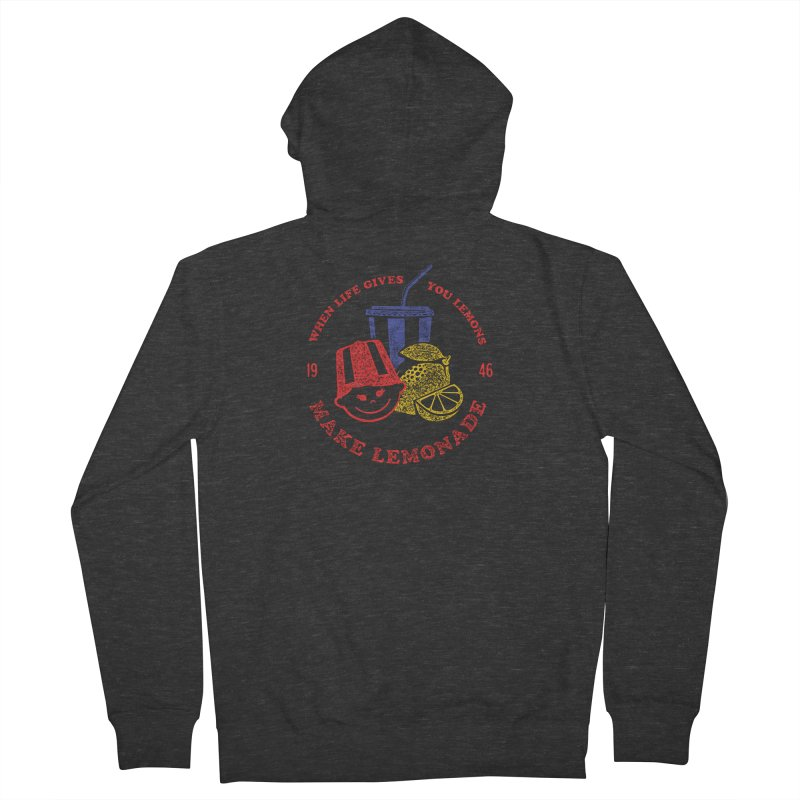 When Life Gives You Lemons Women's French Terry Zip-Up Hoody by Hot Dog On A Stick's Artist Shop