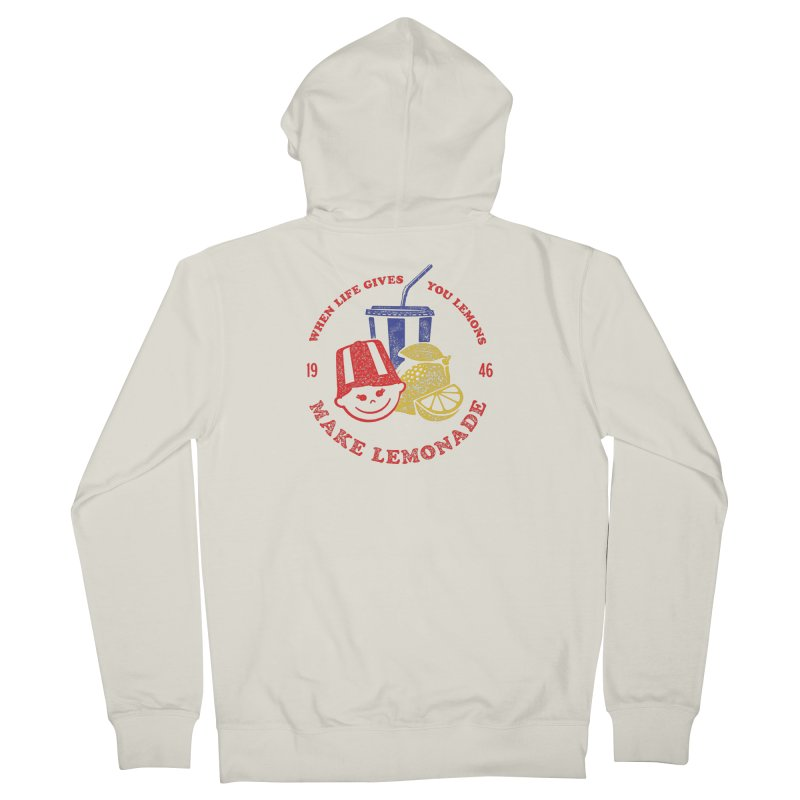 When Life Gives You Lemons Women's Zip-Up Hoody by Hot Dog On A Stick's Artist Shop
