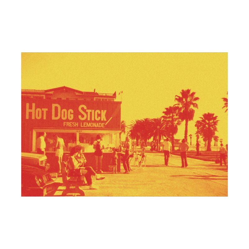 Muscle Beach Vintage Accessories Beach Towel by Hot Dog On A Stick's Artist Shop