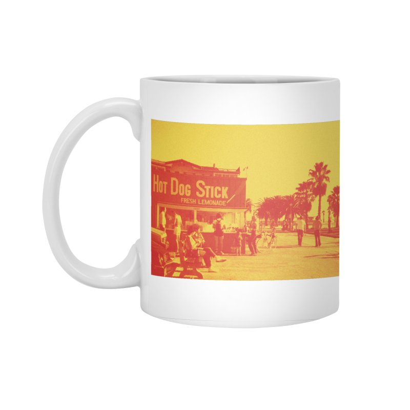 Muscle Beach Vintage Accessories Standard Mug by Hot Dog On A Stick's Artist Shop
