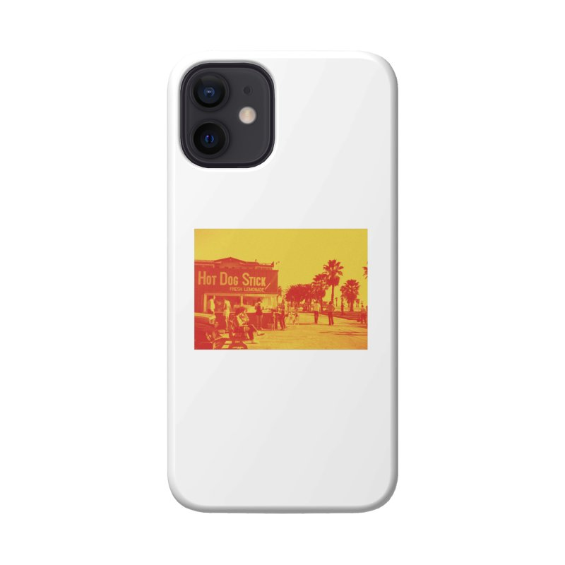 Muscle Beach Vintage Accessories Phone Case by Hot Dog On A Stick's Artist Shop