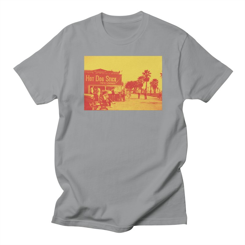 Muscle Beach Vintage Women's Regular Unisex T-Shirt by Hot Dog On A Stick's Artist Shop