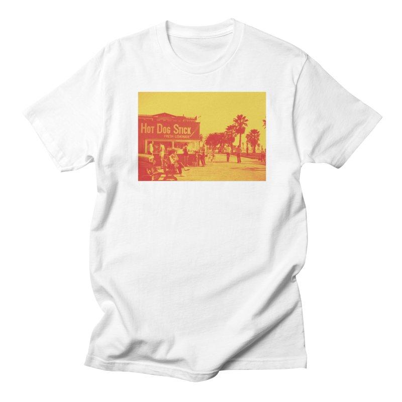 Muscle Beach Vintage Women's Regular Unisex T-Shirt by Hot Dog On A Stick's Artist Shop