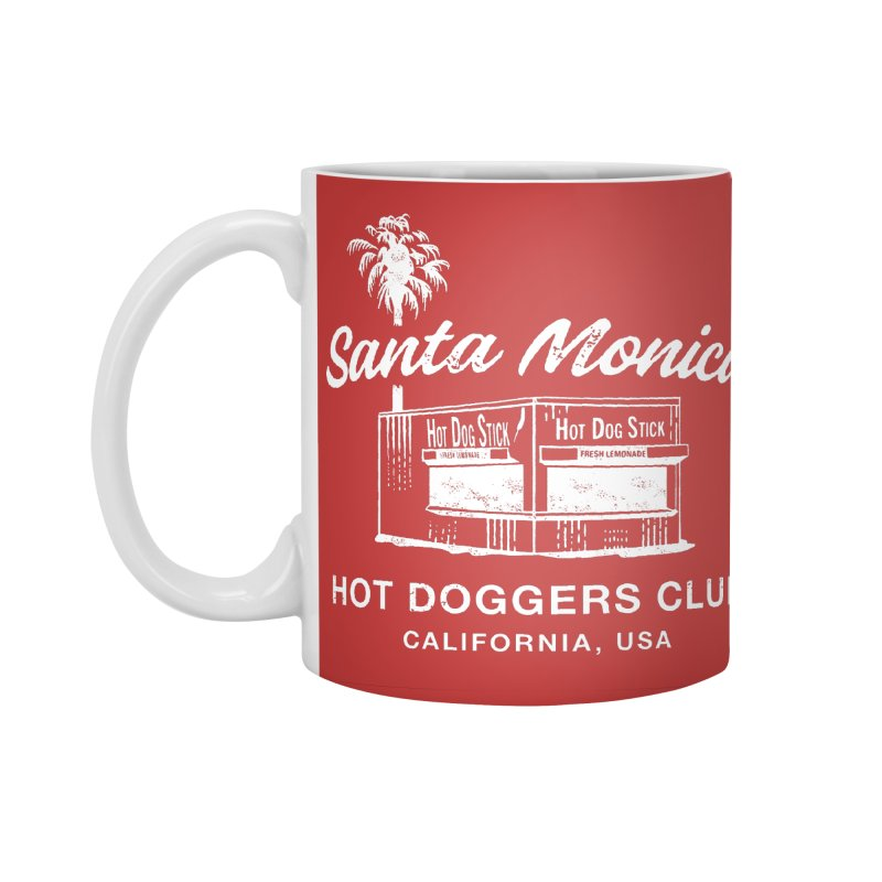 Santa Monica Accessories Standard Mug by Hot Dog On A Stick's Artist Shop