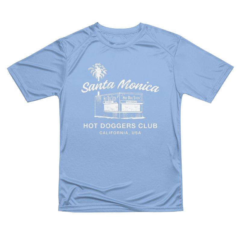 Santa Monica Women's Performance Unisex T-Shirt by Hot Dog On A Stick's Artist Shop