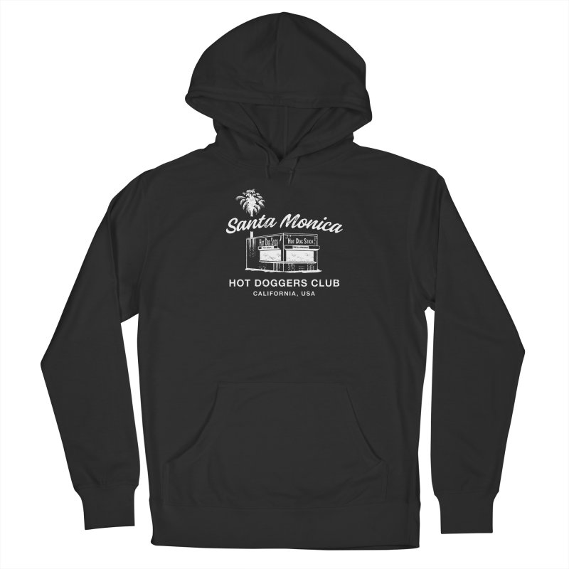 Santa Monica Women's French Terry Pullover Hoody by Hot Dog On A Stick's Artist Shop