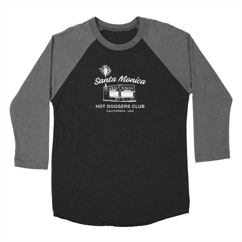 Santa Monica Women's Baseball Triblend Longsleeve T-Shirt by Hot Dog On A Stick's Artist Shop