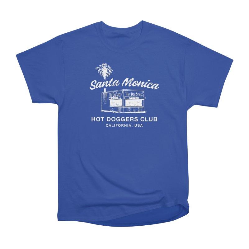 Santa Monica Men's Heavyweight T-Shirt by Hot Dog On A Stick's Artist Shop