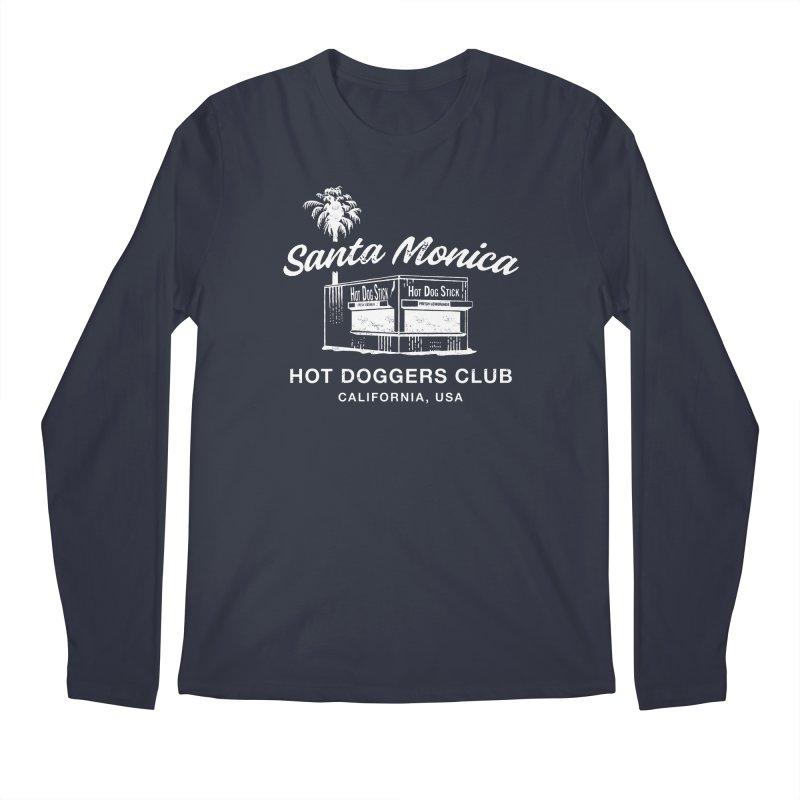 Santa Monica Men's Regular Longsleeve T-Shirt by Hot Dog On A Stick's Artist Shop