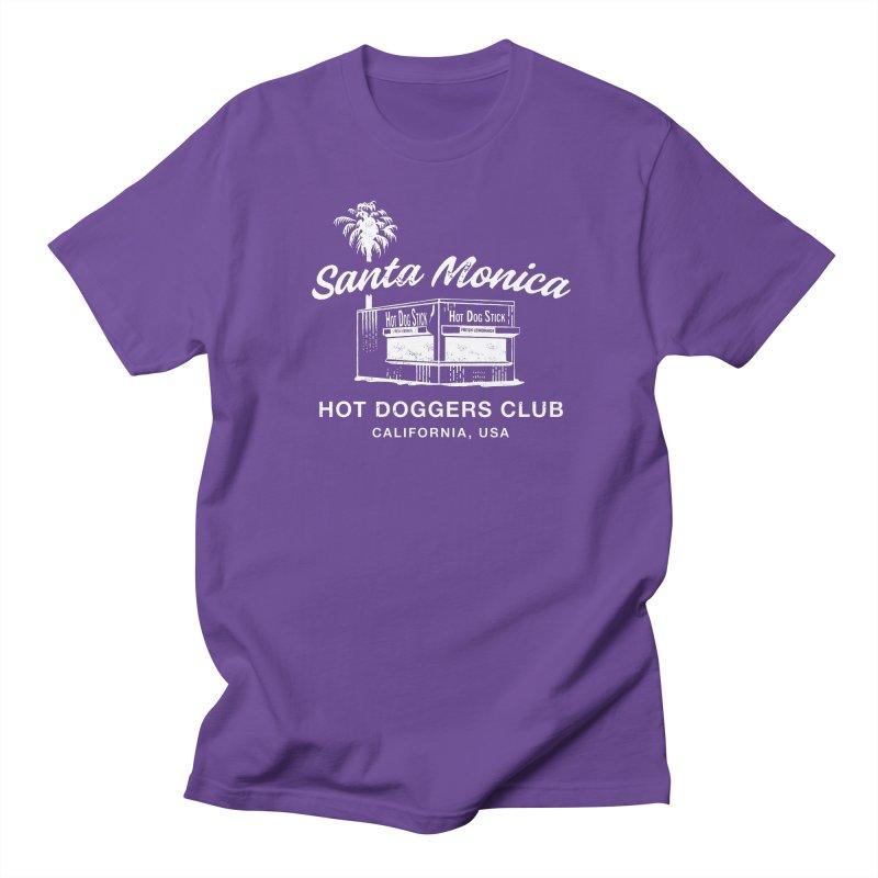 Santa Monica Women's Regular Unisex T-Shirt by Hot Dog On A Stick's Artist Shop