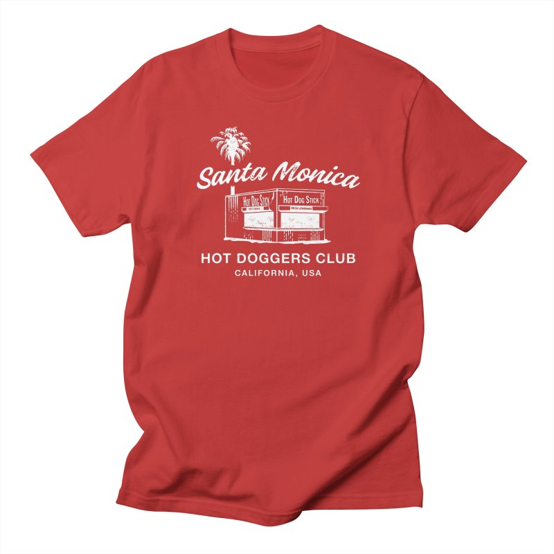 Santa Monica Men's T-Shirt by Hot Dog On A Stick's Artist Shop