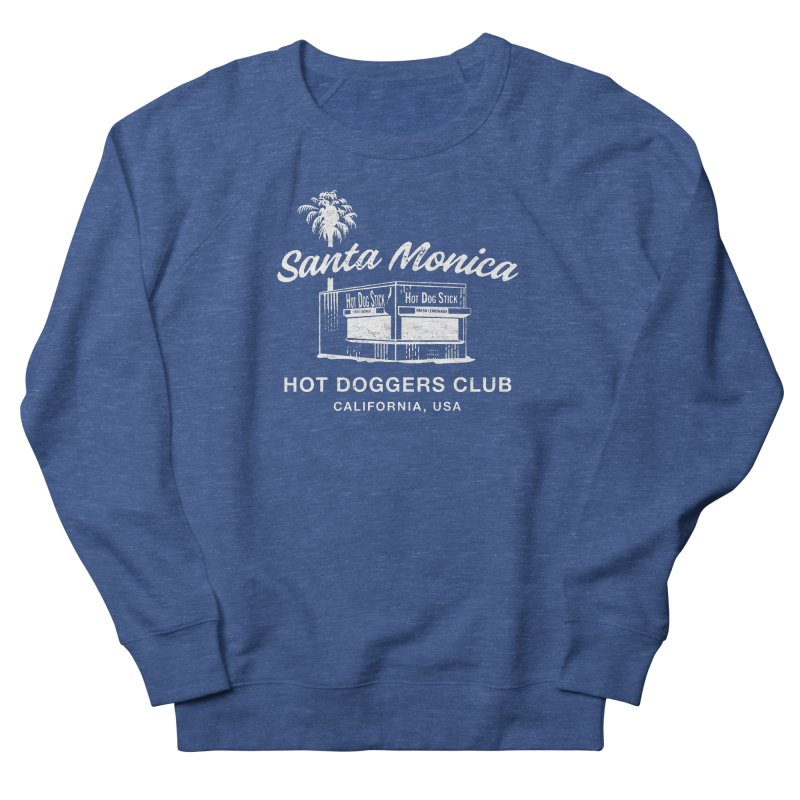 Santa Monica Women's Sweatshirt by Hot Dog On A Stick's Artist Shop