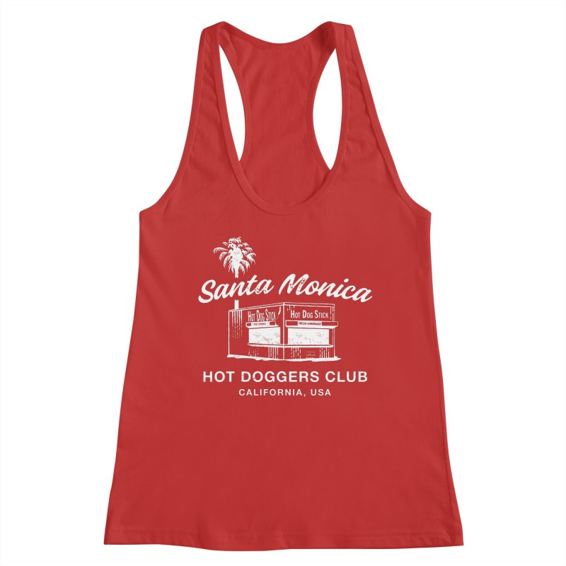 Santa Monica Women's Tank by Hot Dog On A Stick's Artist Shop