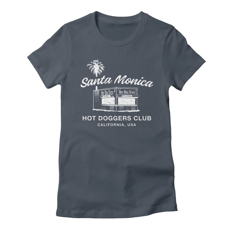 Santa Monica Women's T-Shirt by Hot Dog On A Stick's Artist Shop