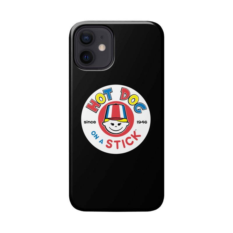 Hot Dog on a Stick Logo Accessories Phone Case by Hot Dog On A Stick's Artist Shop