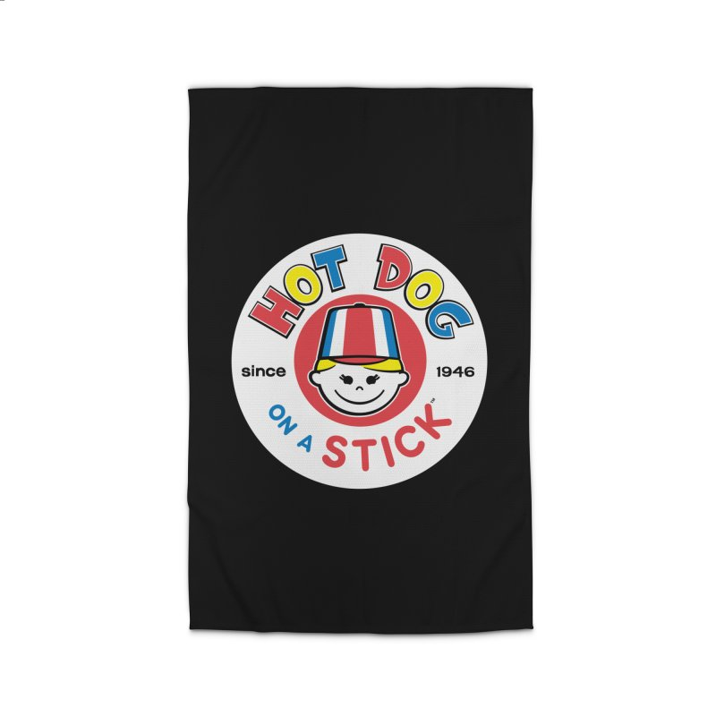 Hot Dog on a Stick Logo Home Rug by Hot Dog On A Stick's Artist Shop