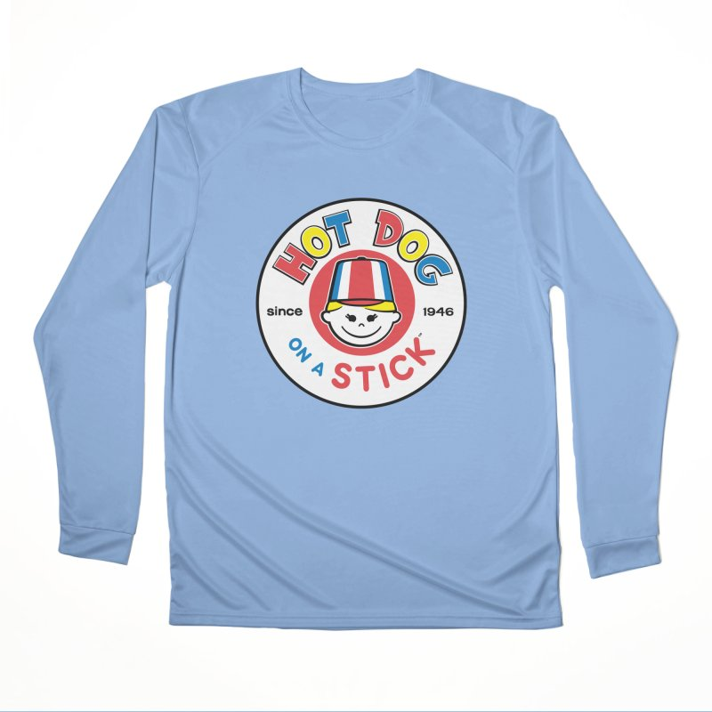 Hot Dog on a Stick Logo Men's Longsleeve T-Shirt by Hot Dog On A Stick's Artist Shop