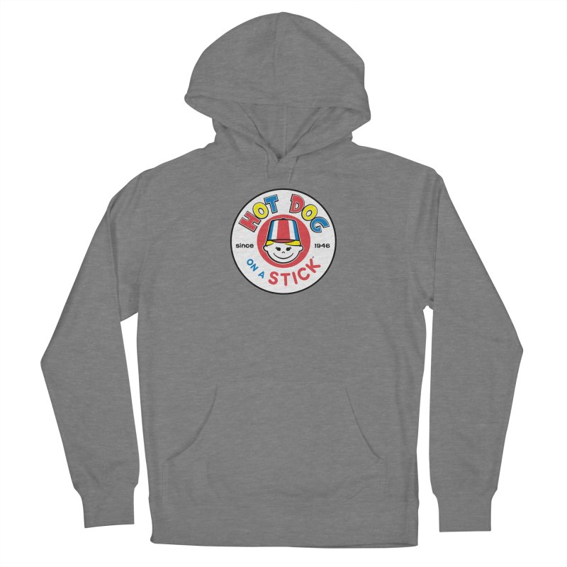Hot Dog on a Stick Logo Women's Pullover Hoody by Hot Dog On A Stick's Artist Shop