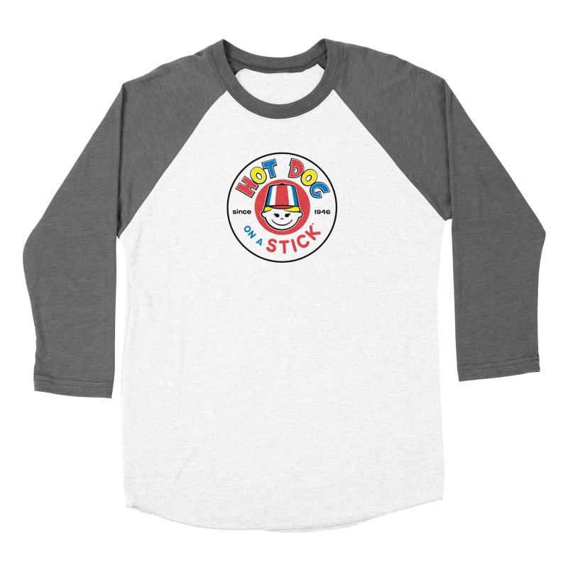 Hot Dog on a Stick Logo Women's Longsleeve T-Shirt by Hot Dog On A Stick's Artist Shop