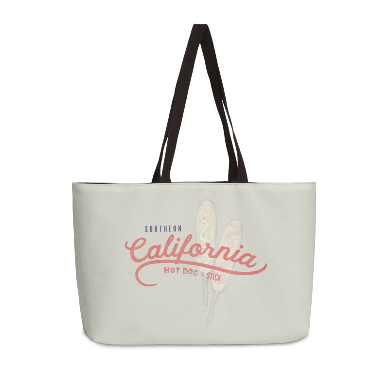 Southern California Accessories Weekender Bag Bag by Hot Dog On A Stick's Artist Shop