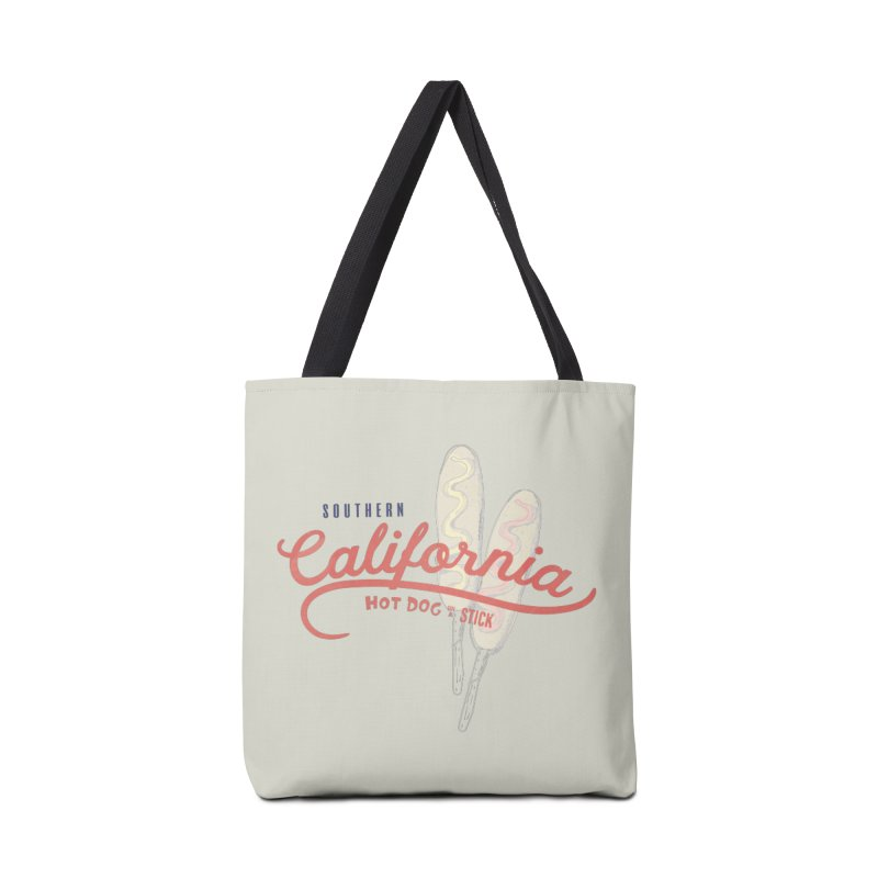 Southern California Accessories Tote Bag Bag by Hot Dog On A Stick's Artist Shop