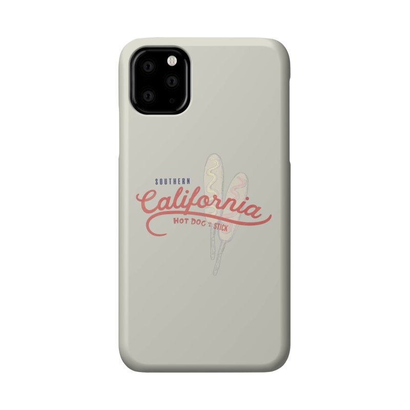 Southern California Accessories Phone Case by Hot Dog On A Stick's Artist Shop