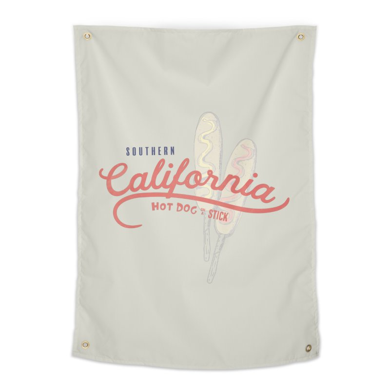 Southern California Home Tapestry by Hot Dog On A Stick's Artist Shop