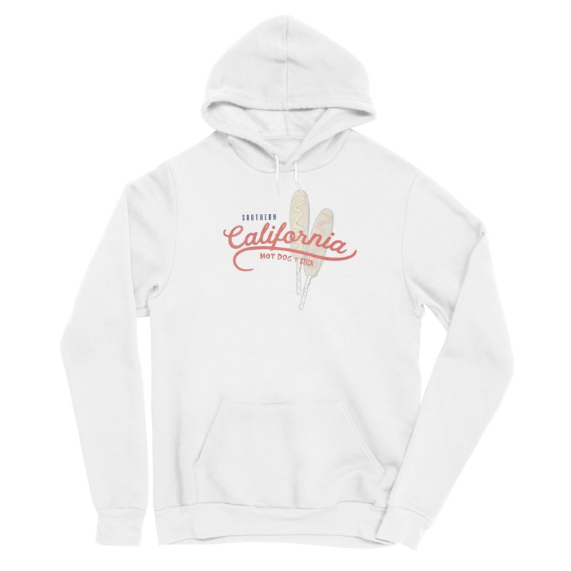 Southern California Women's Pullover Hoody by Hot Dog On A Stick's Artist Shop