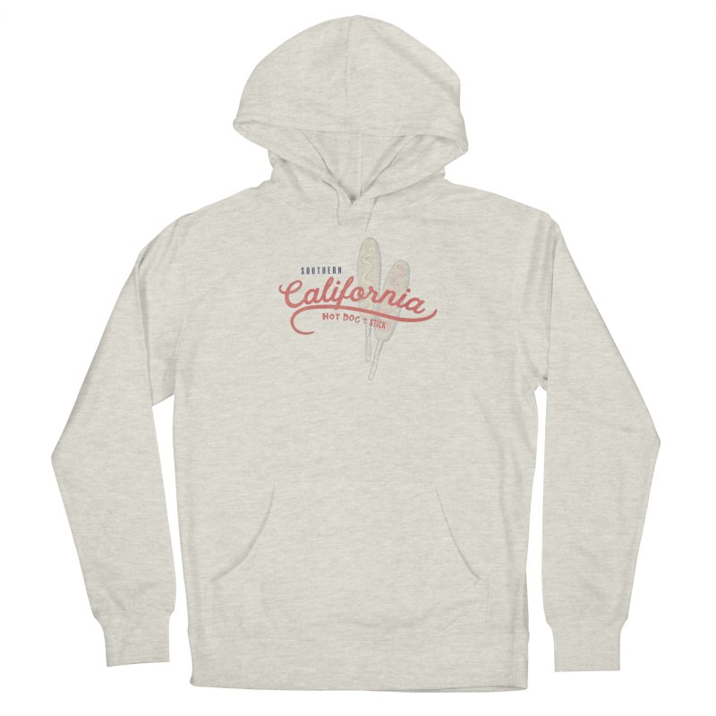Southern California Men's French Terry Pullover Hoody by Hot Dog On A Stick's Artist Shop