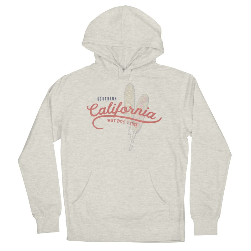 Southern California Women's French Terry Pullover Hoody by Hot Dog On A Stick's Artist Shop
