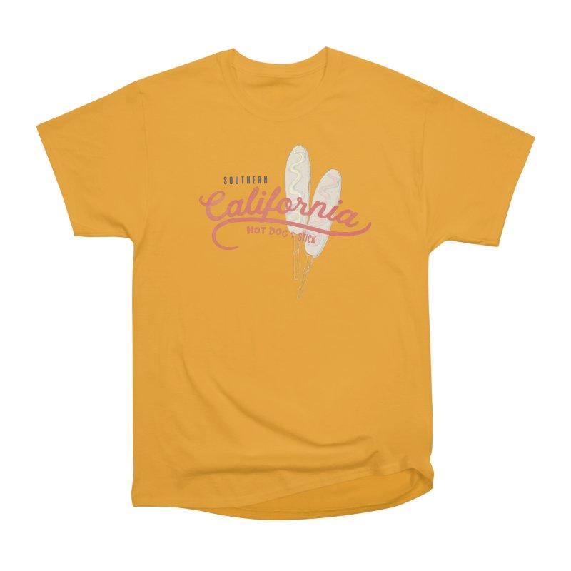 Southern California Women's Heavyweight Unisex T-Shirt by Hot Dog On A Stick's Artist Shop