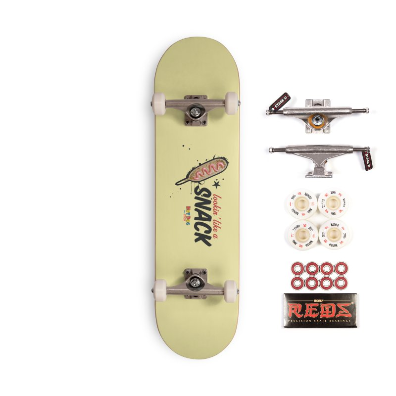 Lookin' like a snack Accessories Complete - Pro Skateboard by Hot Dog On A Stick's Artist Shop