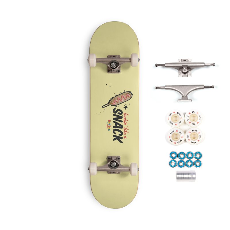 Lookin' like a snack Accessories Complete - Premium Skateboard by Hot Dog On A Stick's Artist Shop