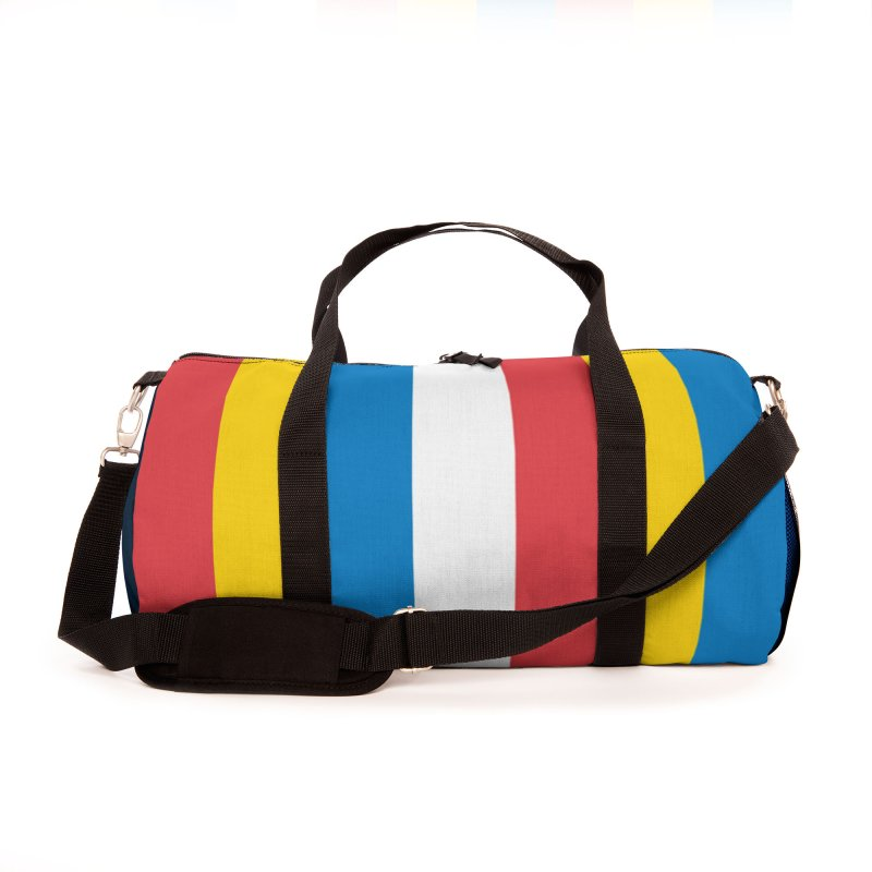 Hot Dog on a Stick Stripes Accessories Bag by Hot Dog On A Stick's Artist Shop