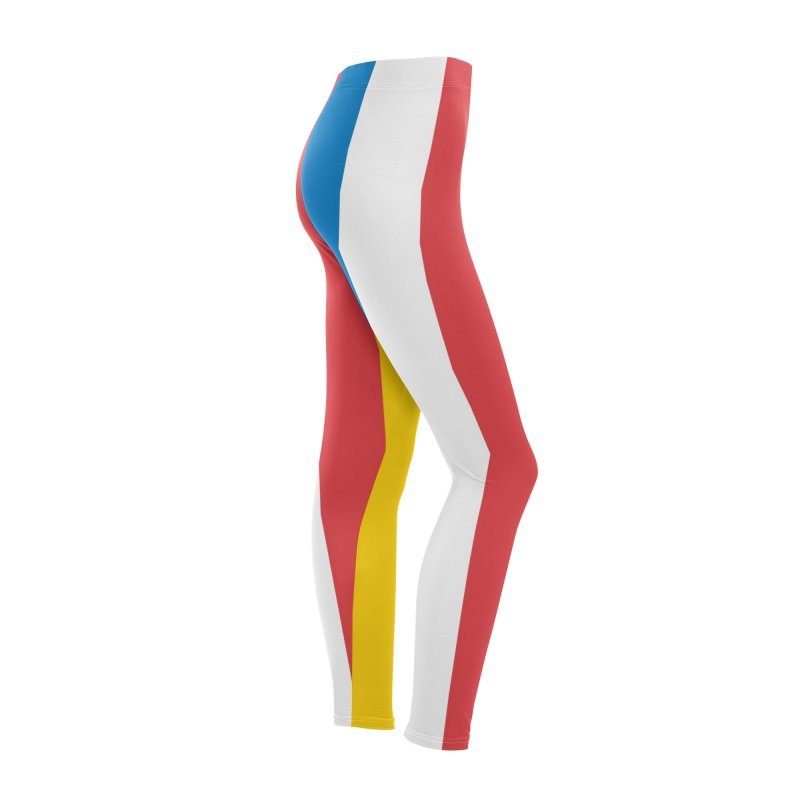 Hot Dog on a Stick Stripes Women's Bottoms by Hot Dog On A Stick's Artist Shop