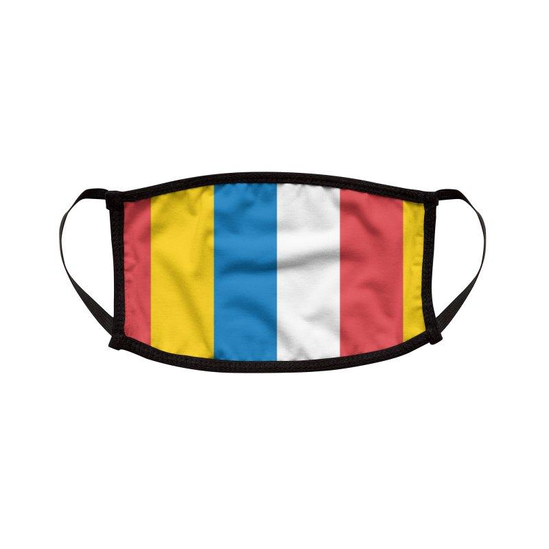 Hot Dog on a Stick Stripes Accessories Face Mask by Hot Dog On A Stick's Artist Shop