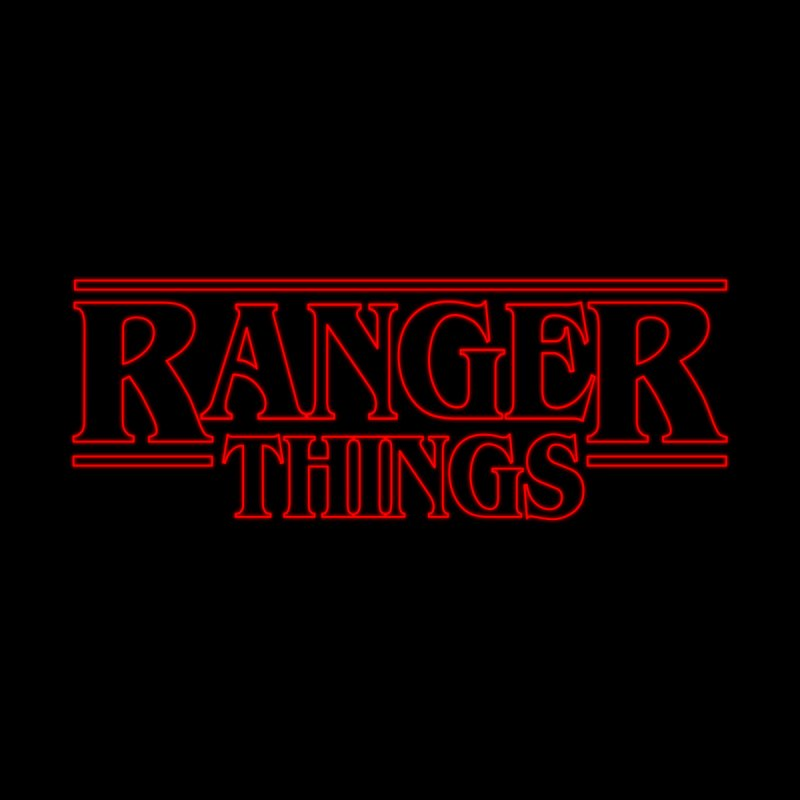 Ranger Things Men's T-shirt by TEE's by HOTSNAKES