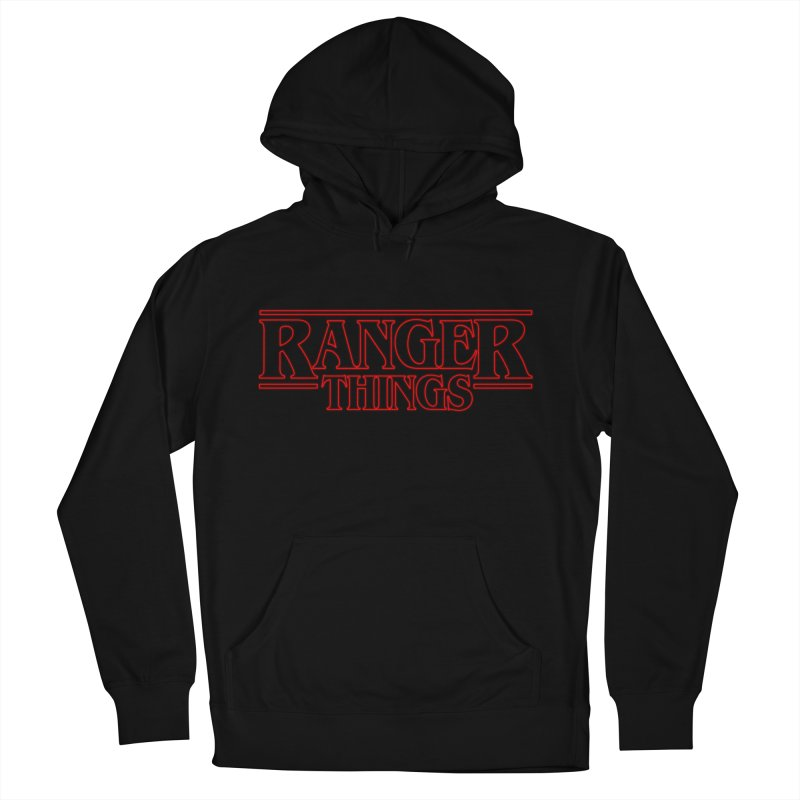 Ranger Things Men's Pullover Hoody by TEE's by HOTSNAKES