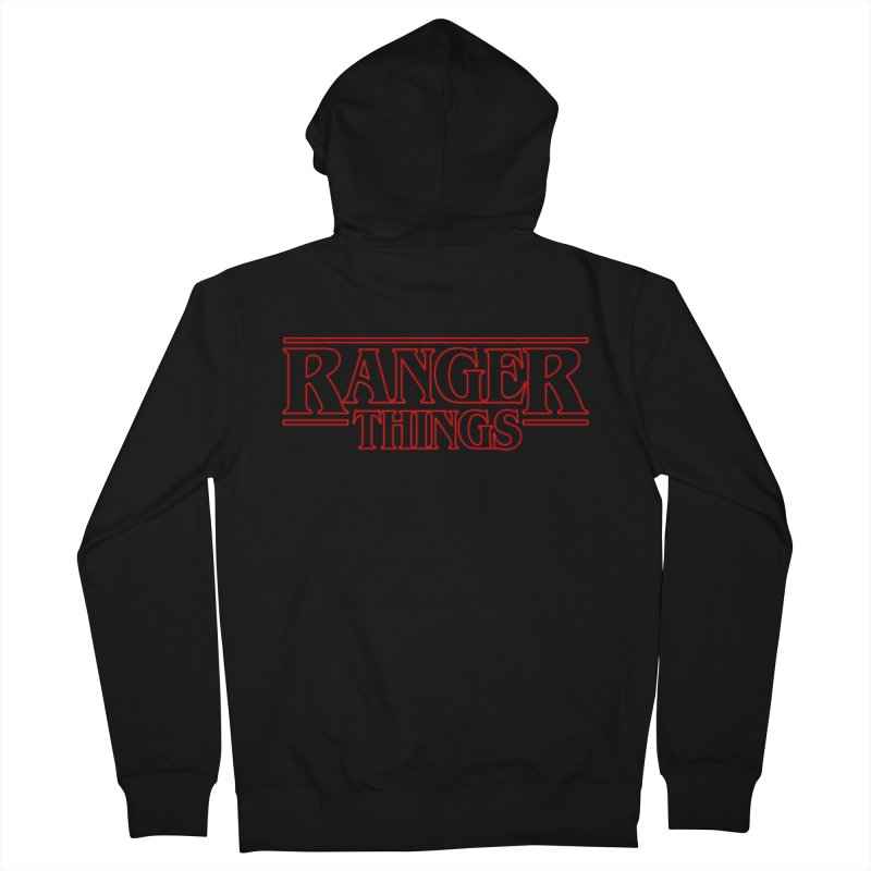 Ranger Things Women's Zip-Up Hoody by TEE's by HOTSNAKES