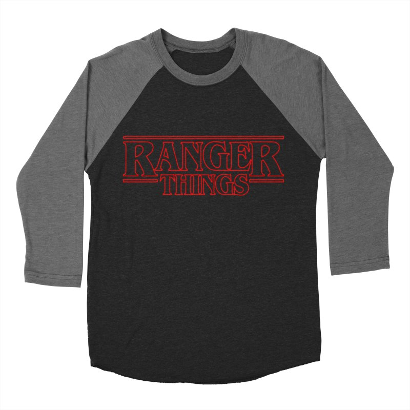 Ranger Things Men's Baseball Triblend T-Shirt by TEE's by HOTSNAKES
