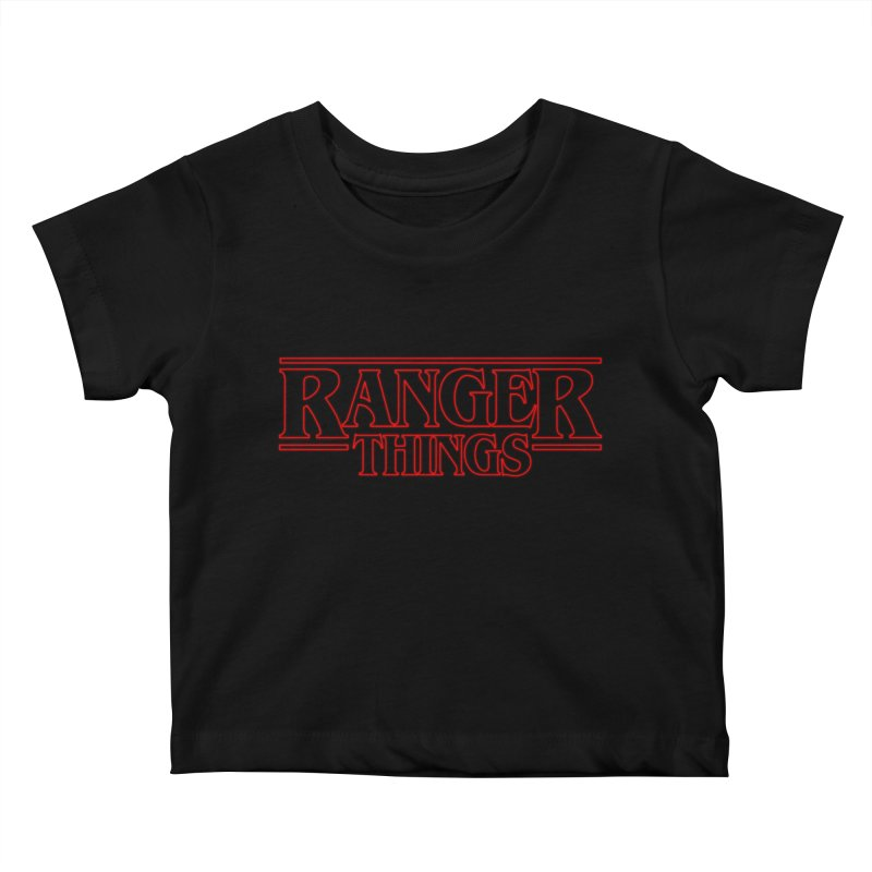 Ranger Things Kids Baby T-Shirt by TEE's by HOTSNAKES