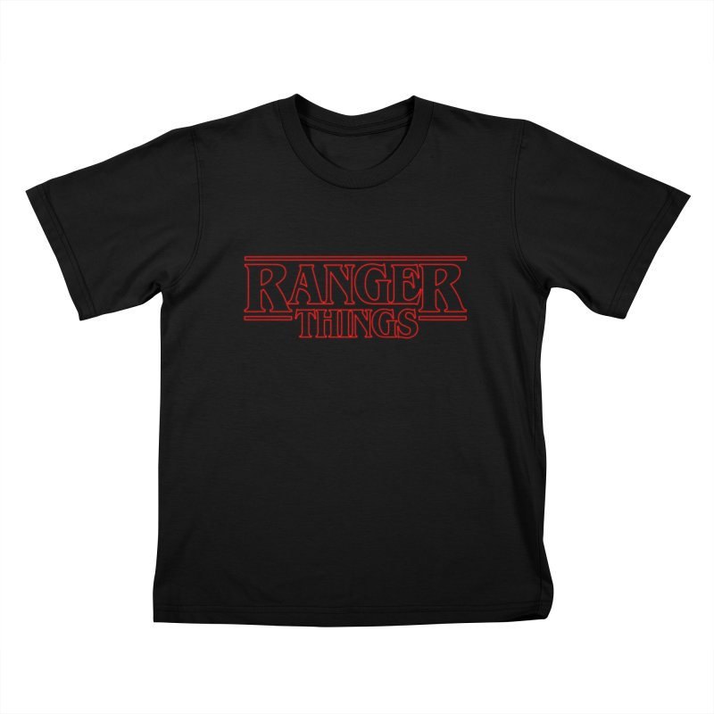 Ranger Things Kids T-shirt by TEE's by HOTSNAKES