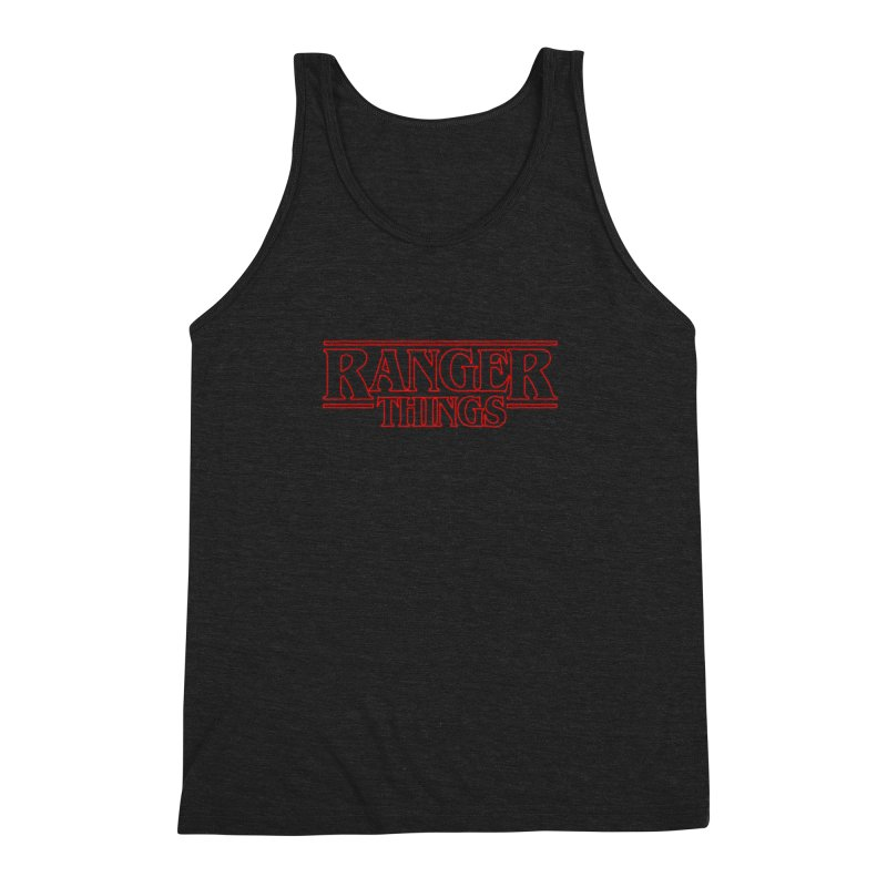 Ranger Things Men's Triblend Tank by TEE's by HOTSNAKES
