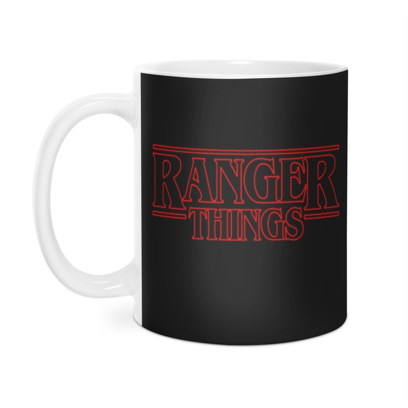 Ranger Things Accessories Mug by TEE's by HOTSNAKES