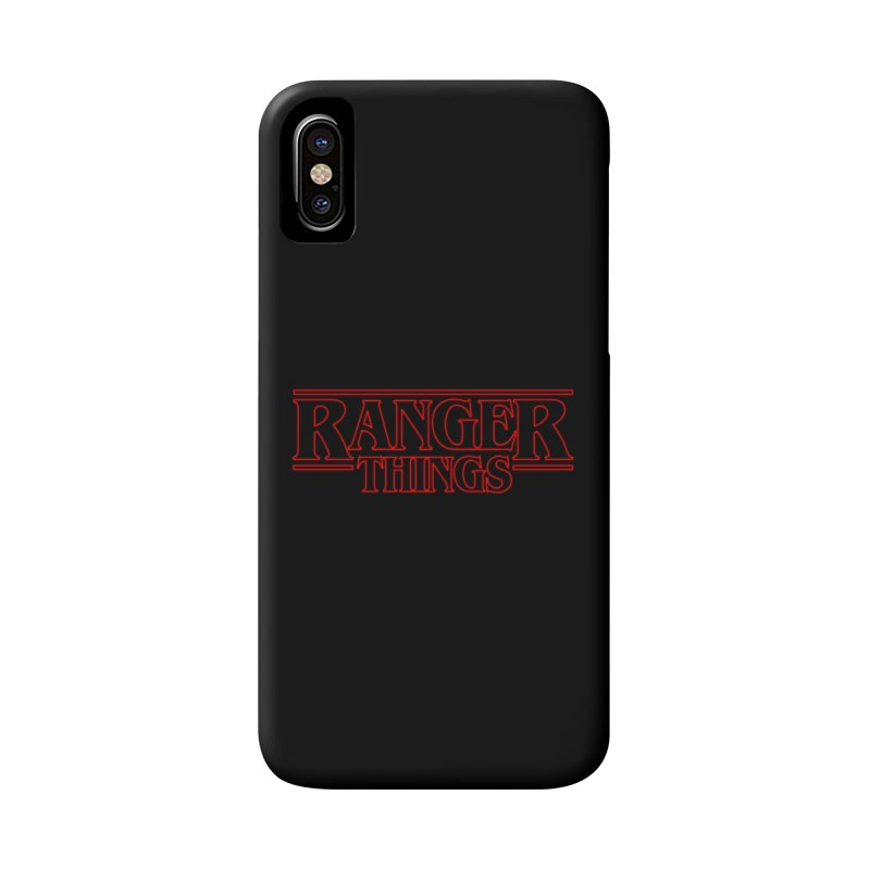 Ranger Things Accessories Phone Case by TEE's by HOTSNAKES