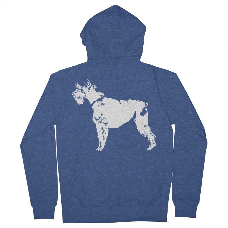 083d92e8 Funny Schnauzer Shirt Men's Zip-Up Hoody by hottrendtee's Artist Shop