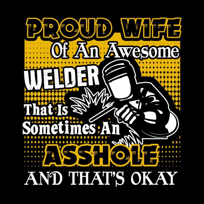 Hottrendtee Welder Shirt Proud Wife Of An Awesome Welder T Shirt