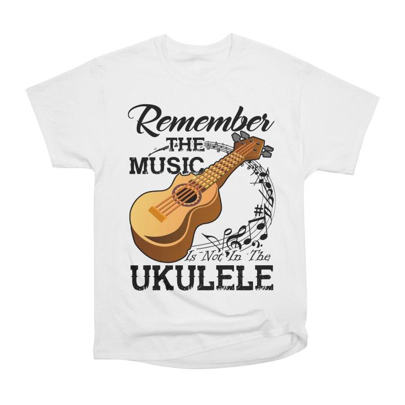 0aee67c7 Ukulele - Funny Ukulele T shirt Women's Heavyweight Unisex T-Shirt by  hottrendtee's Artist Shop